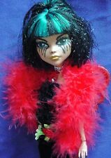 sorrow ooak monster high doll handmade custom doll repaint
