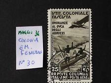 COLONIA EMISSIONI GENERALI 1934 DUCA DEGLI ABRUZZI