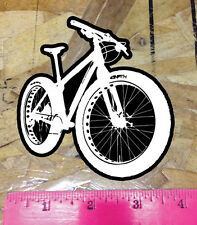 Fatbike Decal Window Sticker Mountain Bike Fat Snow Sand 4""