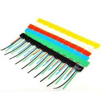 100pcs  Organise your leads and cable 3*120mm CABLE TIES Write on labels