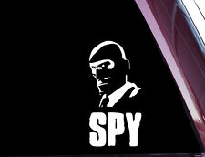 SPY - Team Fortress 2 - TF2 - DIE CUT Decal / Sticker NOT PRINTED (A-61)