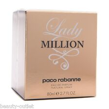 Paco Rabanne Lady Million EDP 80ml Eau de Parfum NEUF & 100% Authentique Femme