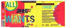 Duran Duran All She Wants Is House Latino Dub Mix W Germany CD Single CDP560