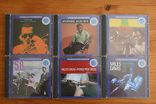 LOT DE 6 CD MILES DAVIS MILESTONES ROUND ABOUT MIDNIGHT KIND OF BLUE AHEAD PORGY