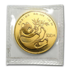 1984 China 1 oz Gold Panda BU (Sealed) - SKU #10434