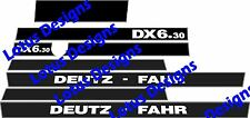 deutz fahr DX6.30 stickers / decals