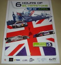 Le Mans - WEC Silverstone 2013 Official Programme Signed By Kristensen & Capello