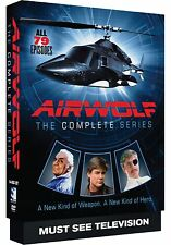 Airwolf - The Complete TV Series Seasons 1 2 3 4 DVD Boxed Set NEW!