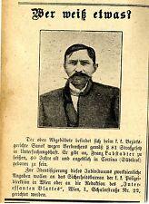 Franz Ladstadter Cortina (Südtirol) in Sanok wg.Verbrechen § 81 in Haft * 1910