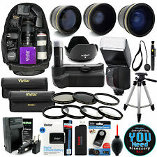 Canon Rebel T3 T5 1200D 1100D Digital Camera Everything You Need Accessory Kit 2
