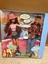 Barbie My Scene Out & About Madison And Sutton Doll Playset New Rare