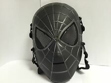 MASCHERA SOFT AIR SPIDERMAN UOMO RAGNO COSPLAY PVC MASK DC MARVEL COSTUME #2