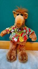 Alf Alien TV Character Hawaiian Floral Shirt 18'' Plush Doll
