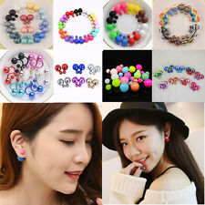 Wholesale 100 Pairs Many Style Women Plated Crystal Elegant Ear Stud Earrings