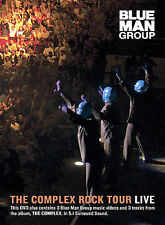 DVD Blue Man Group - The Complex Rock Tour Live  - Free Shipping