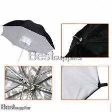 """2x 43"""" Umbrella Softbox Brolly Box Studio Photo Flash Light Reflective Diffuser"""
