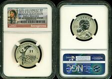 2015 W ENHANCED SACAGAWEA NGC SP69 ER FROM COIN AND CURRENCY SET SAC LB NO BILL