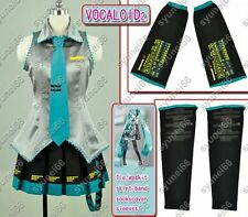 VOCALOID 2 HATSUME MIKU Cosplay costume Any Size