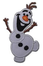 "Walt Disney Frozen Movie Olaf Character 3 3/4"" Tall Embroidered Patch"