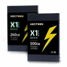 "SSD 500GB HECTRON X1 2.5"" SATA III Internal PC Laptop Solid State Hard Drive"