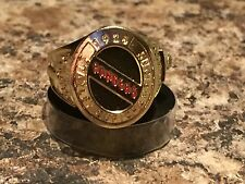 MOLSON CANADIAN NEW YORK RANGERS 1928 STANLEY CUP RING 2016 NEW MINT!!