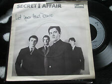"Secret Affair  Let Your Heart Dance  I-Spy Record SEE 3 Pic/S UK  7"" 45 single"