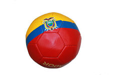 ECUADOR COUNTRY FLAG  FIFA  SOCCER WORLD CUP SOCCER BALL... SIZE: 5
