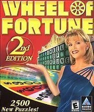 Wheel of Fortune 2nd Edition (PC, 2000) NEW SEALED !!