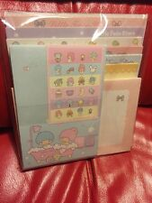 Sanrio Original Twin Stars Japan Huge Big Stationary Letter Set 2008