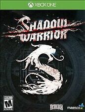XBOX ONE SHADOW WARRIOR BRAND NEW & FACTORY SEALED!