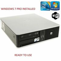HP DC7800 INTEL Core 2 Duo 2.33 GHz 4 GB RAM 250 GB HDD DVDRW WINDOWS 7 GARANTIE