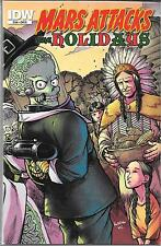 MARS ATTACKS THE HOLIDAYS GRAPHIC NOVEL COVER D ($7.99, VF) IDW