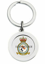 ROYAL AIR FORCE FIRE RESCUE KEY RING (METAL)