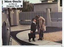 JACQUES TATI MON ONCLE  1958 VINTAGE LOBBY CARD #4  PHOTO D'EXPLOITATION