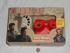 NEW Dune Gift Set View Master w/ 3 Reels & 21 Movie Pictures SEALED 1984 giftset