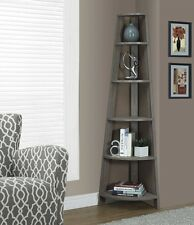 Corner Shelving Unit Shelves for Kitchen Bookcase Decorative Tall Reclaimed Wood
