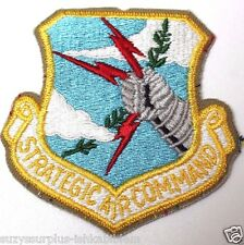 Strategic Air Command SAC Color Patch 3 1/4in h x 3in w each P2077