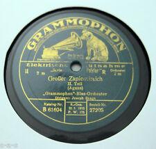 """Nice Price: Joseph Snaga - """"Großer Zapfenstreich"""" (Agans) 1&2  GRAMMOPHON (026)"""