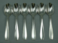 Christofle modèle Atlas, 6 cuillères de table, très bon état, 2/2.