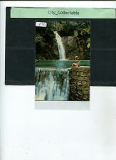 P792 # MALAYSIA USED PICTURE POST CARD * WATERFALL AT BOTANICAL GARDEN, PENANG