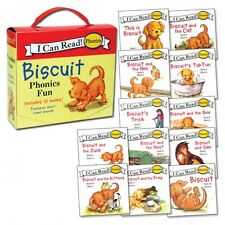 I CAN READ BISCUIT PHONICS FUN 12 Book Box Set NEW