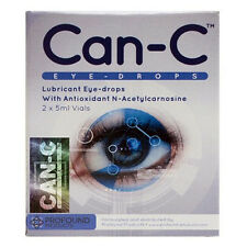 Can-C Eye-Drops Cataract Treatment Without Surgery, 2 X 5 ml Vials