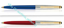 Parker Set of 2 Galaxy Standard Ball Point Pens Ballpens GT New Sealed Blue ink