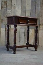 Retro Vintage Solid Wooden Small Hallway Telephone/ Console Table - Upcycle?
