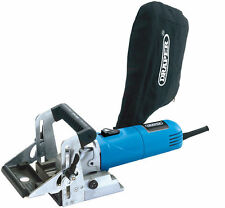 Draper 23035 880W 230V Biscuit Jointer With Carry Case Easy Blade Change New