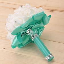 Wedding Bouquet Bridal Bridesmaid Foam Flower Bud Posy Handmade Decor FS1
