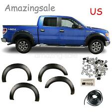 4pcs Wheel Fender Flares For 2011-2014 Ford F-250 F-350 Super Duty X2