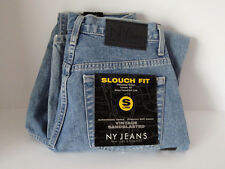 New York & Company Jeans Slouch Fit Vintage Sandblasted Size 4P