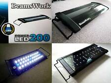 "Beamswork aquarium hi lumen LED 200 hang on light lamp 30-45 cm 11-17"" nano fish"