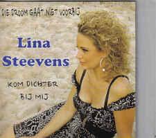 Lina Stevens-Die Droom Gaat Niet Voorbij cd single